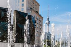Strausberger Platz - stock photo