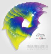 Creative abstract background - stock illustration