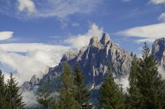 Dolomiti near San Martino di Castrozza,Trentino,Italy - stock photo