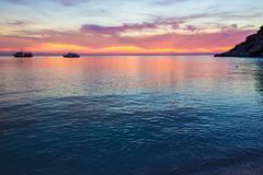 Stock Photo of beautiful twilight over the sea
