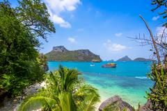 A Beach of Angthong Marine National Park - stock photo