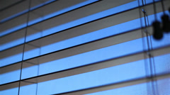Blinds Close Open 01 HD - stock footage