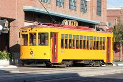 Tampa streetcar Stock Photos