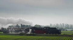 Steam train - stock footage