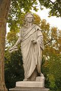 Schiller statue - stock photo
