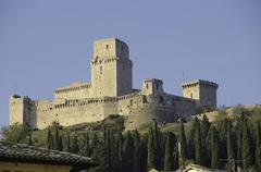 Architecture Detail of Assisi in Umbria Stock Photos