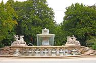 Wittelsbach Fountain Stock Photos