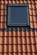 Dormer on a tiled roof Stock Photos
