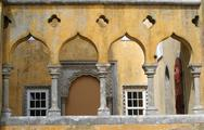 Stock Photo of palace archways