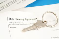 Tenant agreement Stock Photos