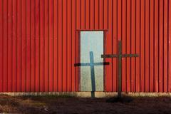 salvation doorway - stock photo