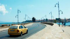 Old city of Nesebar Stock Footage