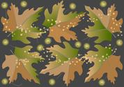 Stock Illustration of The leaves are falling