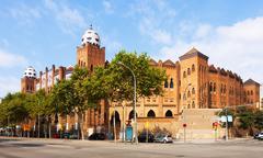 Plaza de toros Monumental. Barcelona Stock Photos