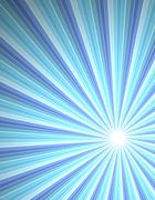 Beam of rays abstract background - stock illustration