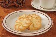 Stock Photo of Shortbread cookies