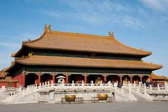 Forbidden City: Palace of Heavenly Purity Stock Photos