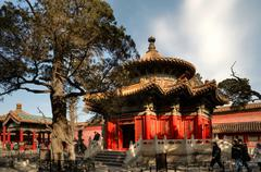 Stock Photo of Forbidden City: Pavilion of Ten Thousand Springs