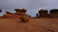 Goblin Valley Time Lapse Stock Footage