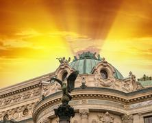 Opera Garnier Pariisissa, jossa musiikkifestivaaleja ja konsertteja ovat h Kuvituskuvat