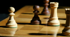 1799 Chess King Check Mate, 4K Stock Footage