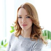 Stock Photo of lifestyle. beautiful woman in the office