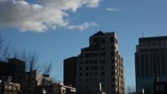 Downtown Boise, ID Driving Shot Stock Footage
