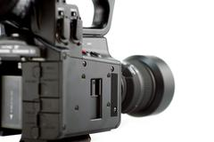 Professional camera - side view Stock Photos