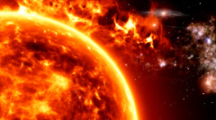 Solar Atmosphere 8 Stock Footage
