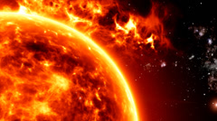 Solar Atmosphere 14 Stock Footage