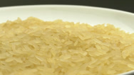 Stock Video Footage of 4K Plate of Rice Food