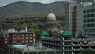 Stock Video Footage of Downtown Boise, Idaho medium shot
