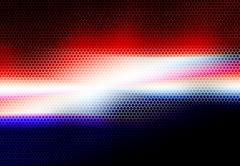 american colors mesh background. - stock illustration