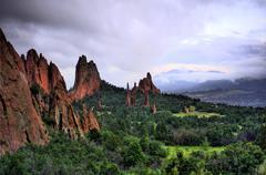 Garden of the Gods Colorado Springs - stock photo