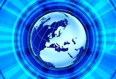 News global background. Stock Illustration
