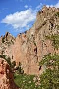 Garden of the gods, colorado springs, colorado, usa. Stock Photos