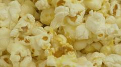 4K Popcorn Maize Closeup Stock Footage