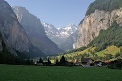 jungfrau germany alp mountain landscape - stock photo