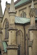 Gothic cathedral  - cathedral church of st. james Stock Photos