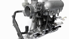 Real used motor Stock Footage
