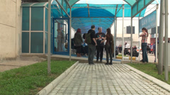 Bucharest, May The 10th, East European Comic Con, Cosplayers Talking With Fans - stock footage