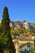 Acropolis at Athens, Greece Stock Photos