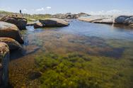 Stock Photo of rock pool near bingi bingi point. bingie (near morua) . nsw. australia