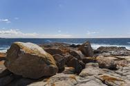 Stock Photo of coastline landscape. bingie (near morua) . nsw. australia
