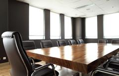 Modern business meeting room Stock Photos