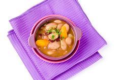 Bohnensuppe Stock Photos