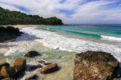 freedom beach, phuket, thailand - stock photo