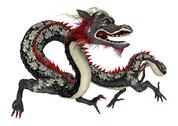 Stock Illustration of eastern dragon