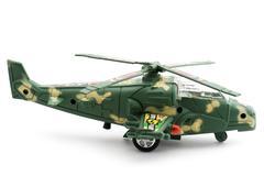 Toy sotilaallinen helikopteri Kuvituskuvat