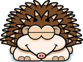 Stock Illustration of sleeping little hedgehog